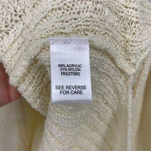 Cato Tops - 🌵 Cato Cream Sleeveless V Neck Knit Tunic